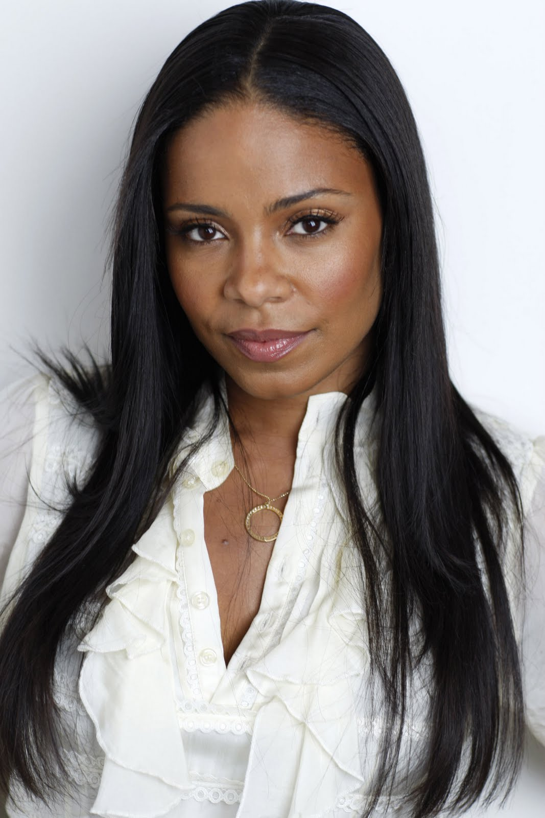Anotherallergymom Sanaa Lathan Black Long Straight Hairstyle