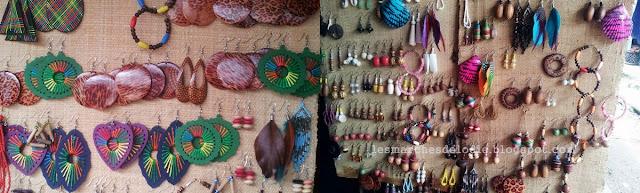 Marché des artisans - Bijoux fantaisistes - Douala - Les Marches d'Elodie