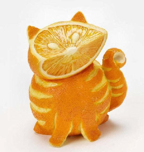 nice creation from lemon and orange