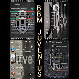 BBM Mod JUVENTUS v2.11.0.16 Terbaru