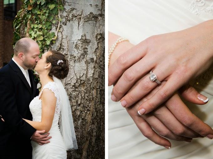 Purple and Green Nashville Wedding: Amanda and Garrett