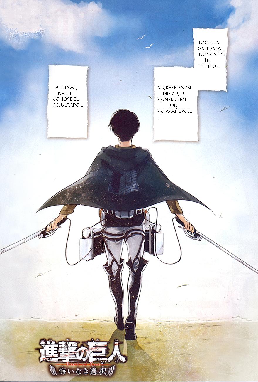 Shingeki No Kyojin: A choice with no regrets