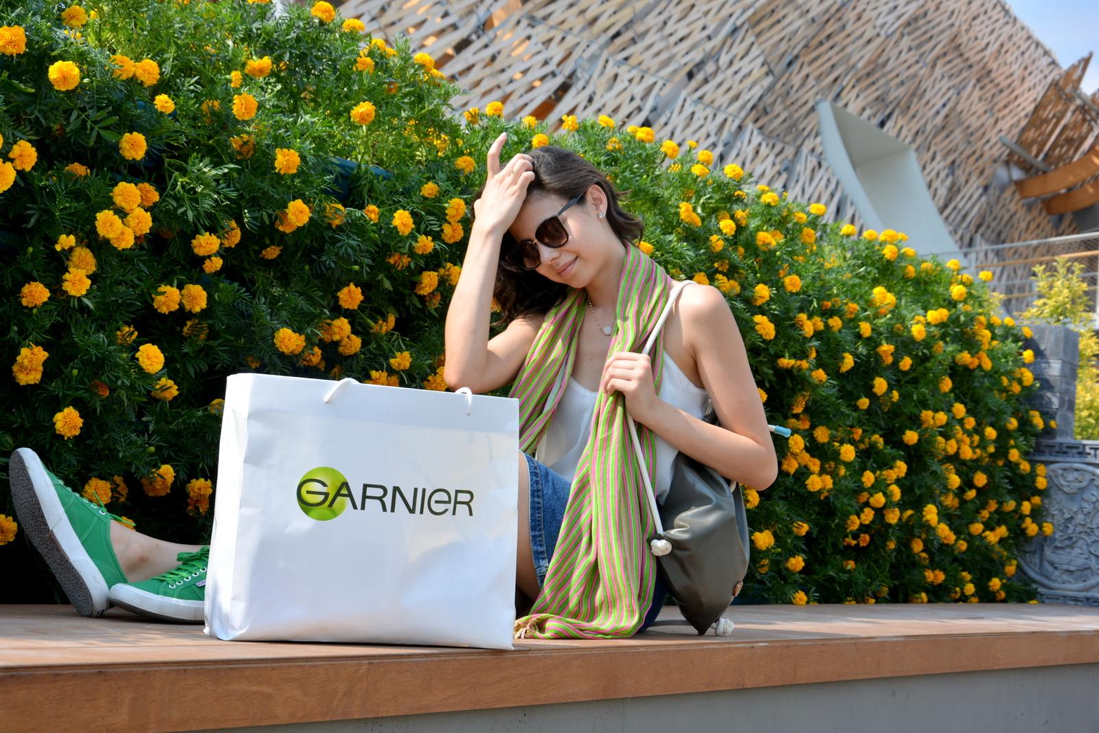 #ExpoExperience #BloggerItalia  #LeRicetteGarnier