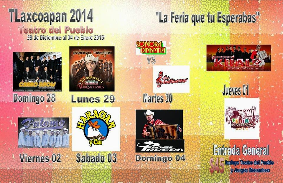 programa feria tlaxcoapan 2014