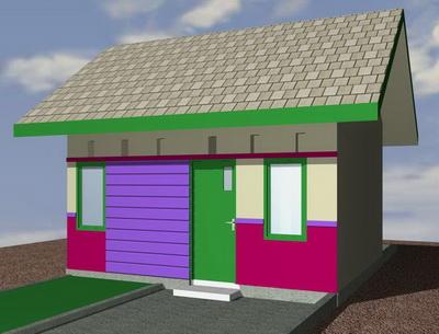 contoh rumah minimalis gambar rumah type 22 60