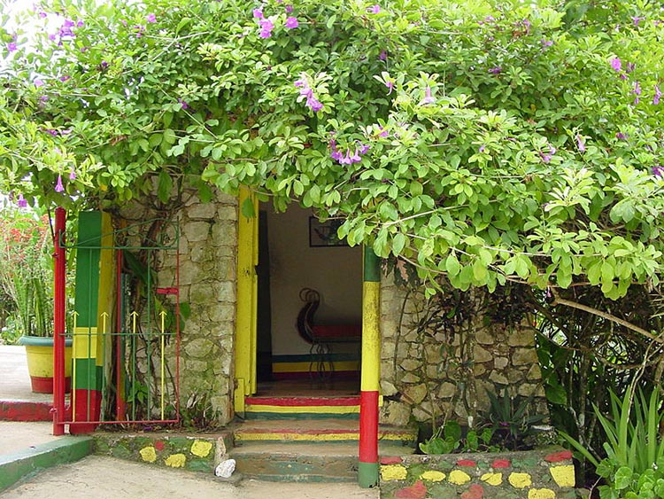 Nine Mile, Bob Marley's house, Jamaica