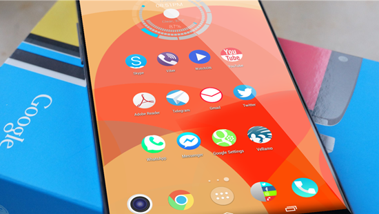 Solstice HD Theme Icon Pack v6 Apk Full