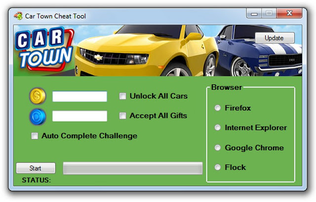 car town ex hack tool cheat trainer features car town