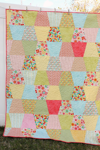 Tumbler Quilt Tutorial Diary Of A Quilter A Quilt Blog