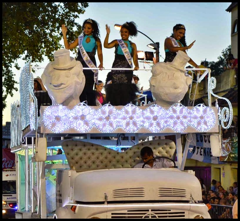 Carnaval. Desfile de Llamadas. Reinas.