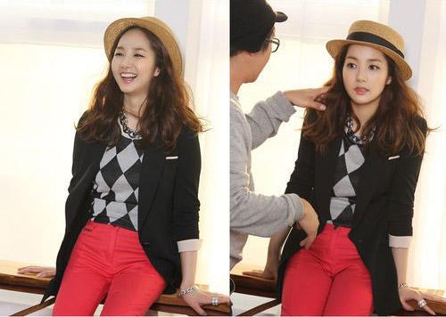 "Park Min Young กับแฟชั่นสุดชิคในแบรนด์ ""SS"""