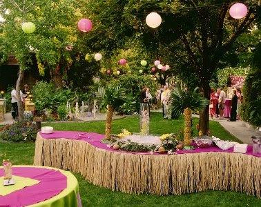 dicas de decorar festa havaiana