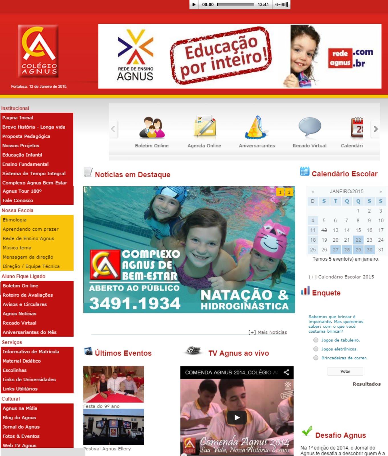 Visite o nosso site!