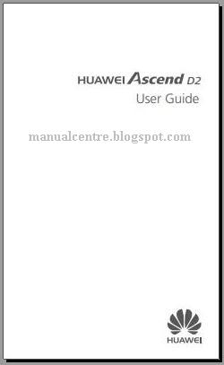 Huawei Ascend D2 Manual Cover
