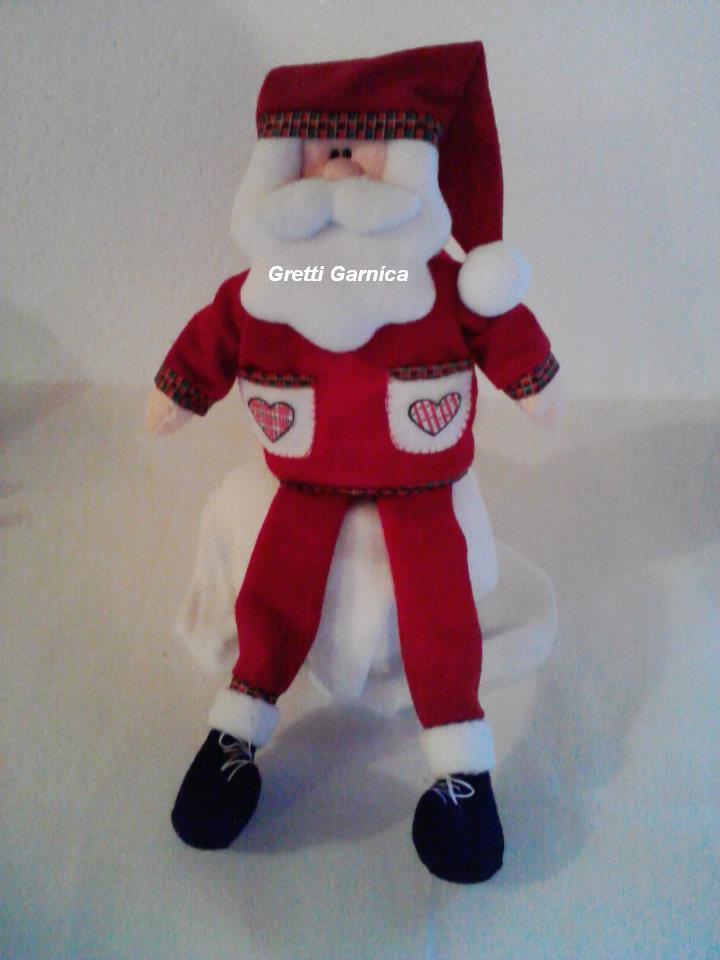Manualidades y creaciones de gretti especial navidad - Un santa claus especial ...