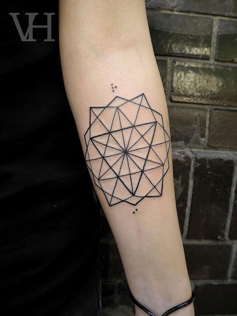 geometric tattoos damn cool