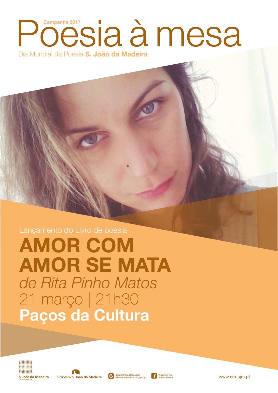 """LANÇAMENTO DO LIVRO """"AMOR COM AMOR SE MATA"""""""