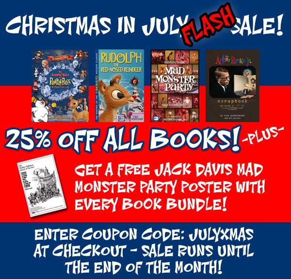 SALE through end of July!
