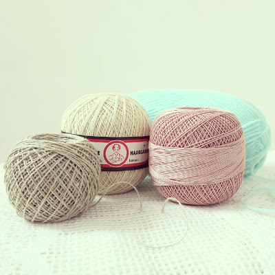 ByHaafner, crochet yarn, cotton crochet, Modinetje, white, pastel, organic hemp yarn,