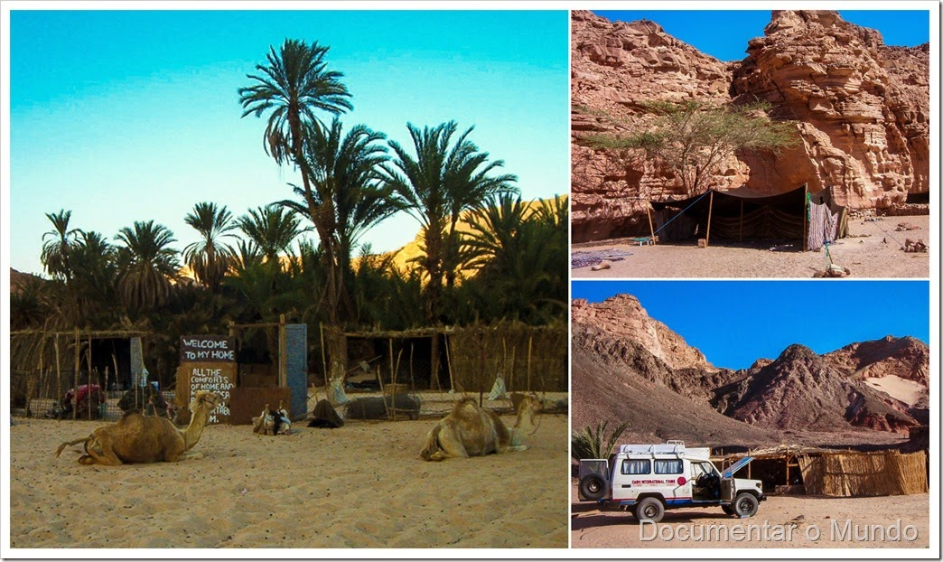 Oásis de Ein Khudra; Egito; Ein Khudra Oasis; Egypt; Bedouin Village; Acampamento Beduíno