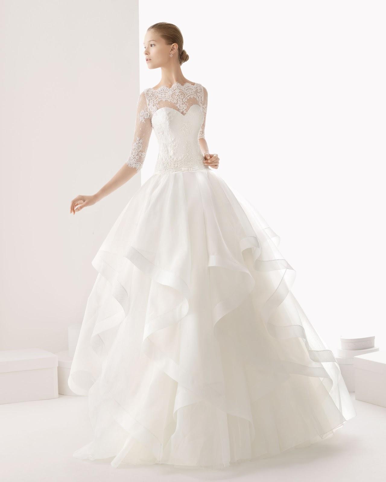 Long sleeved wedding dresses vera wang - Dress on sale