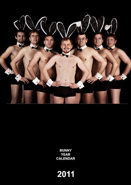 корпоративный календарь 2011 год кролика