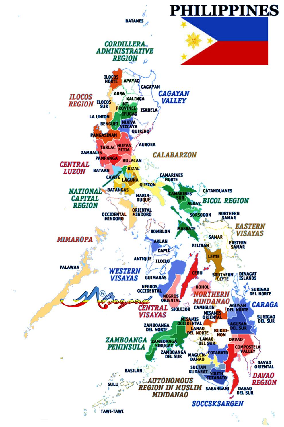 philippine map, map philippines, around the philippines guide, philippine travel blogger, travel blogger philippines