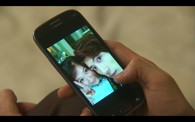 Last Cinderella - Is Hiroto longingly gazes at a couple photo with Sakura on his cell phone