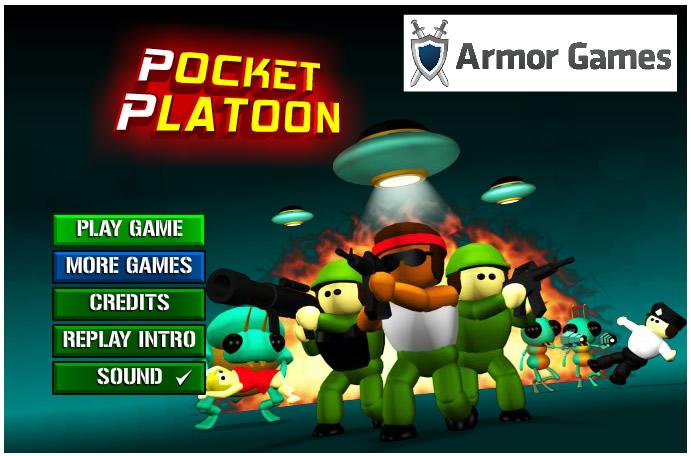 Armor Game : Pocket Platoon