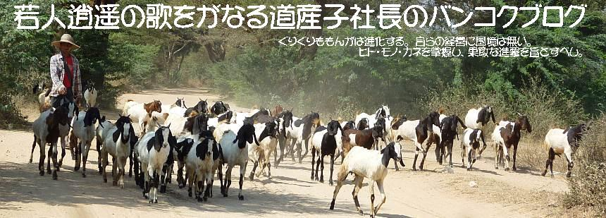 若人逍遥の歌をがなる道産子社長のバンコクブログ