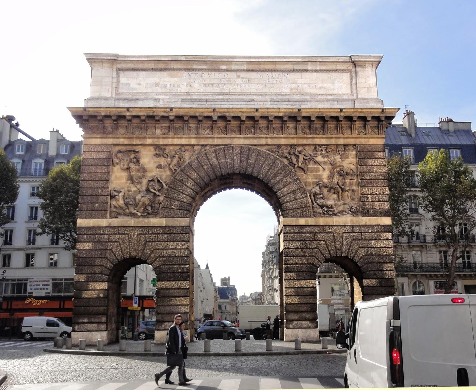 Porte saint martin paris historic walks for Porte saint martin