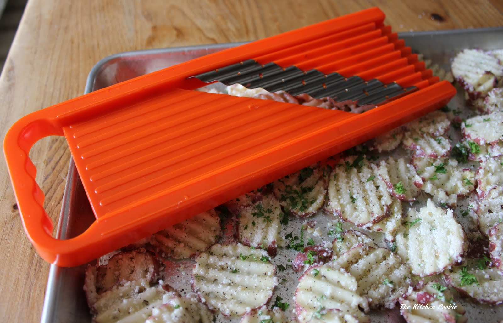 Bring Creativity Into Your Kitchen With A Waffle Fry Cutter!