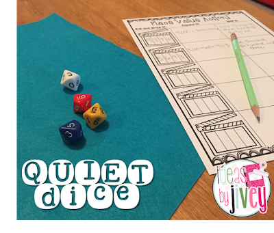 Quiet dice with Ideas by Jivey.