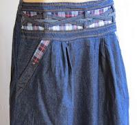 Skirt Jeans Long