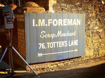 Doctor Who, fiftieth anniversary, Totter's Lane, junk yard, scrap yard, junkyard, scrapyard, special, An Unearthly Child