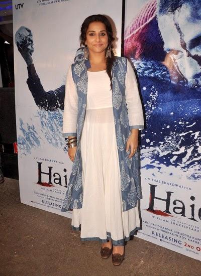 Bollywood celebs at Haider movie screening