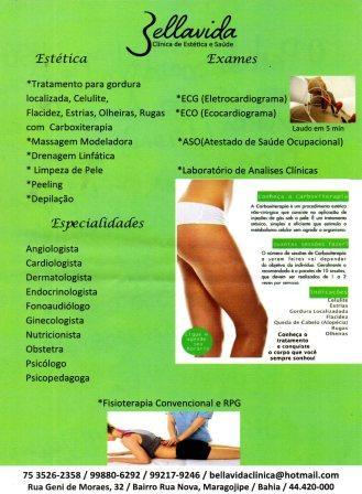 Bella Vida - Novos Serviços: otorrinolaringologista, preventivo e teste da orelhinha.