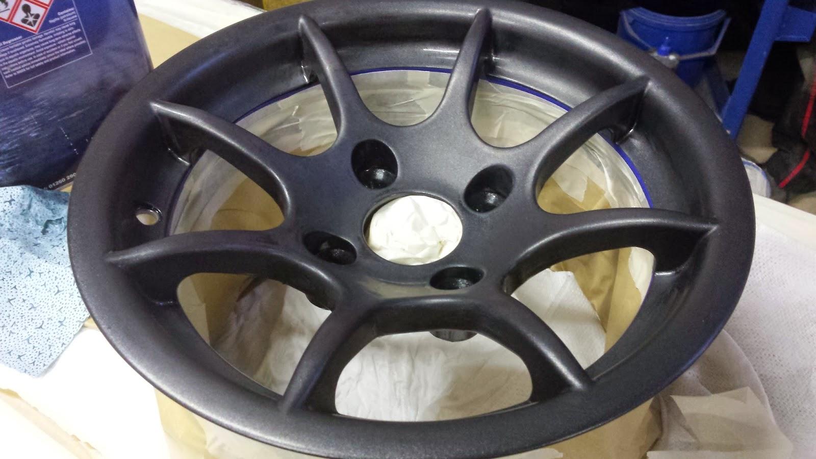 Inside of the wheel barrel masked