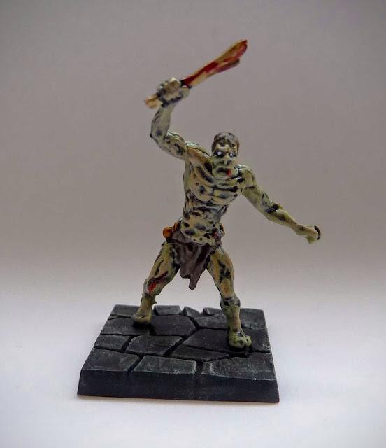 Dungeon Saga: Dwarf King's Quest painted evil dead: zombie.
