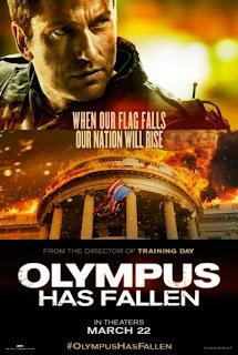 Olympus has Fallen Gerard Butler Poster