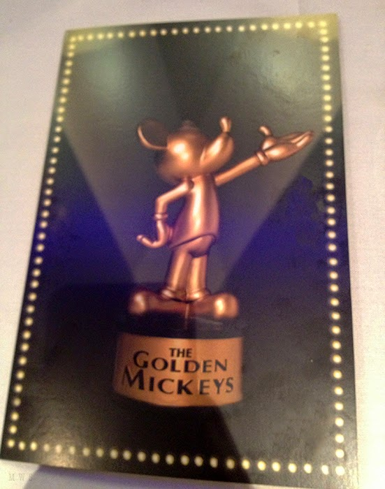 Golden Mickeys Dessert Menu