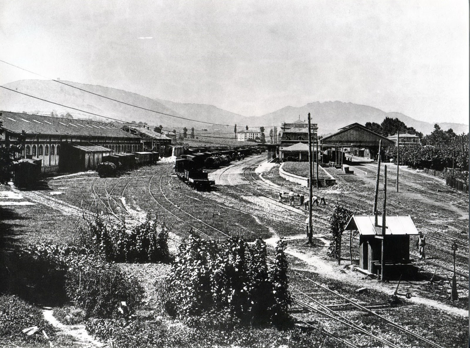 Historias del tren el tratado de reciprocidad ferroviaria - Paseo imperial madrid ...