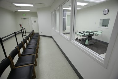 San Quentin's brand new death chamber