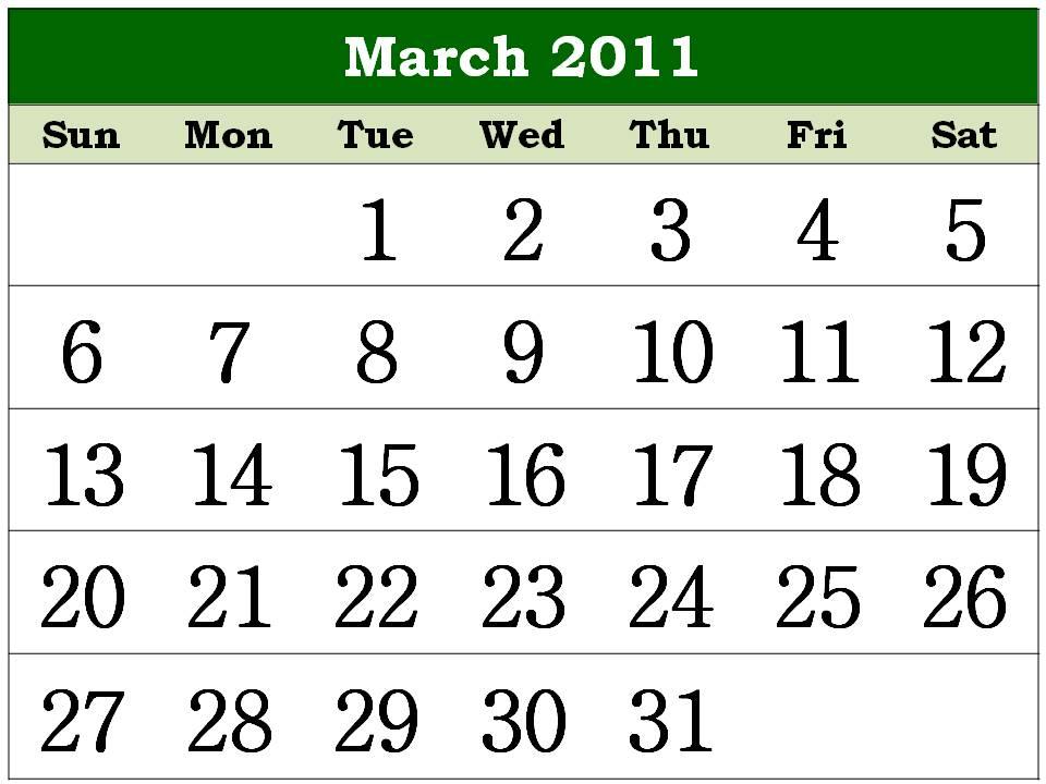 march calendar 2011. blank calendar March+2011+