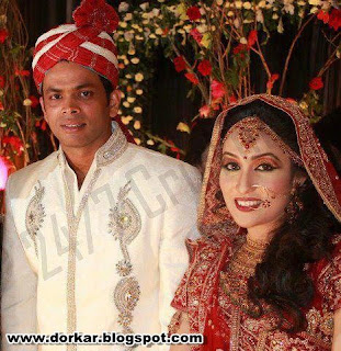 abdur razzak wedding pic
