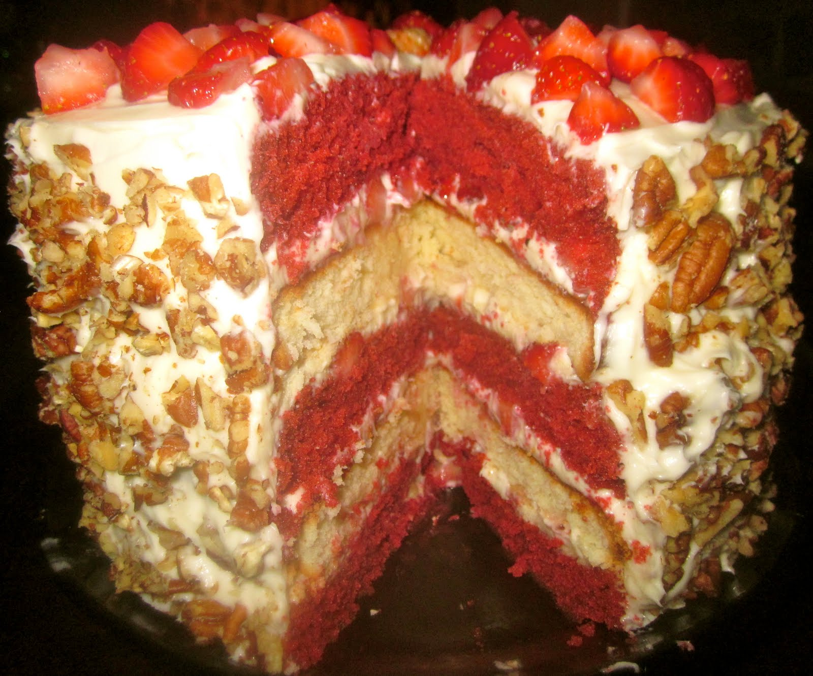 Strawberry Cheesecake Topping For Pound Cake