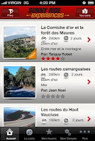 Application for Provence bikers