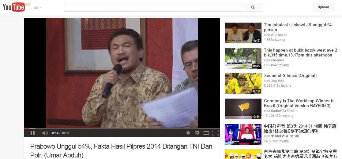 Kecurangan pilpres, pemilihan presiden Indonesia, KPU