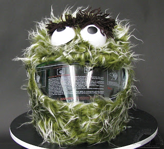 Oscar the Grouch Helmet Cover