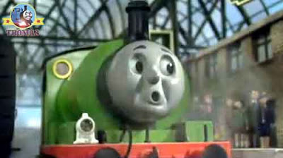 Thomas-Thomas bust my buffers oil paint my portrait picture Percy the train Gordon the tank engine